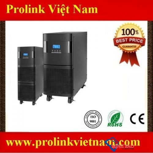 Bộ lưu điện Prolink 10KVA 3 pha vào 1 pha ra model Pro83110S